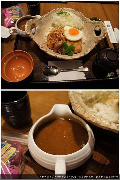 炸豬里肌咖哩土鍋定食101/9/22