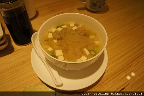 日式味噌湯(當天免費招待)