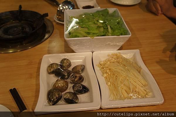 大陸妹、蛤蜊&金針菇