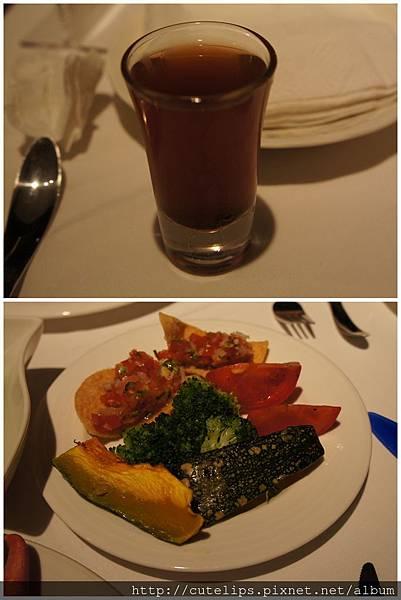 烏梅汁&配菜