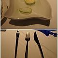 檸檬水(洗手用)&吃龍蝦用餐具