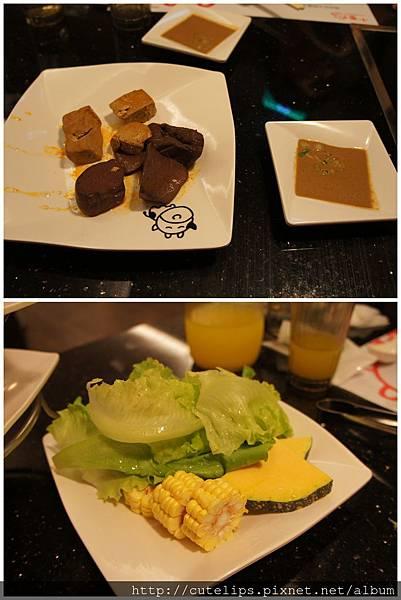 醬料、鍋底&蔬菜