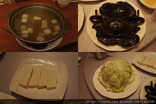 白菜蟳火鍋