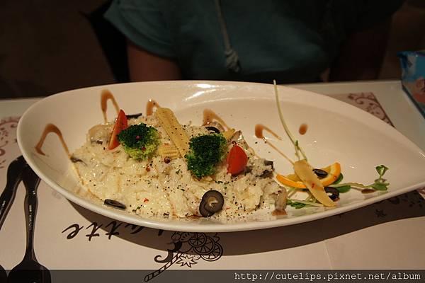 米蘭蔬食鮮菇燉飯