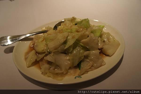 辣炒高麗菜(不辣)