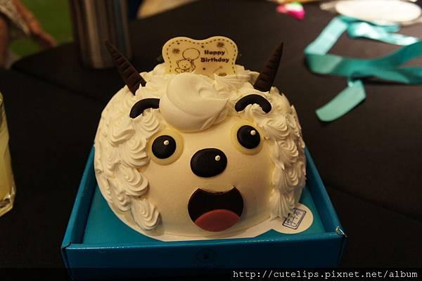 喜羊羊蛋糕(葡吉)