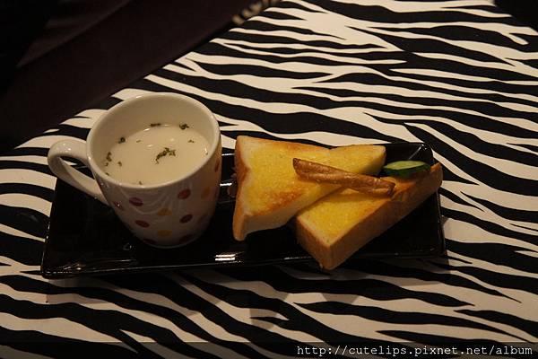 濃湯&厚片土司