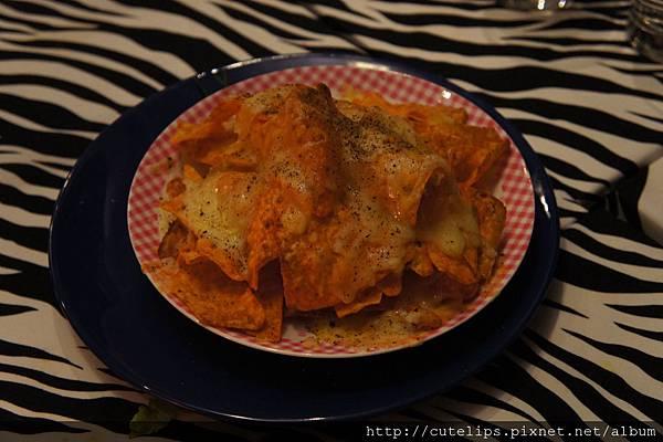 墨西哥起士玉米餅(免費招待)