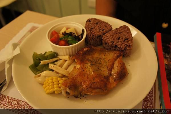 雞料理-香煎雞腿排
