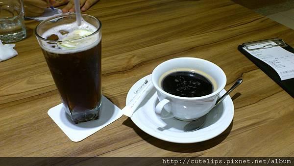 冰紅茶&熱咖啡101/11/14