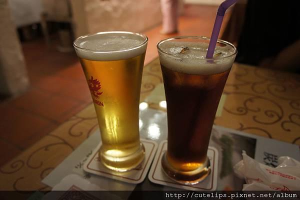 附餐飲料-BEER&紅茶