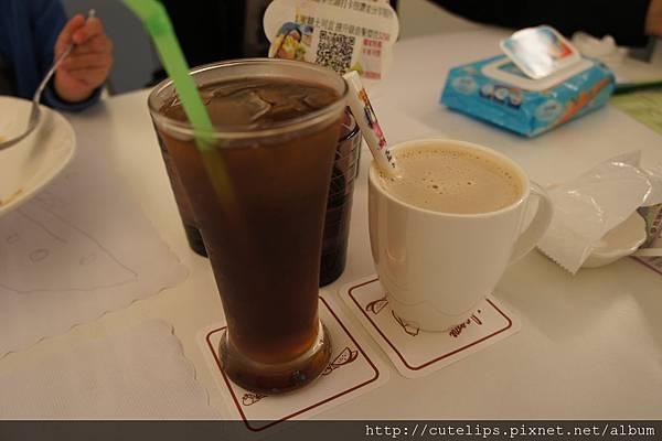 冰紅茶&熱皇家奶茶