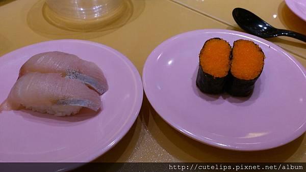 蝦卵軍艦壽司