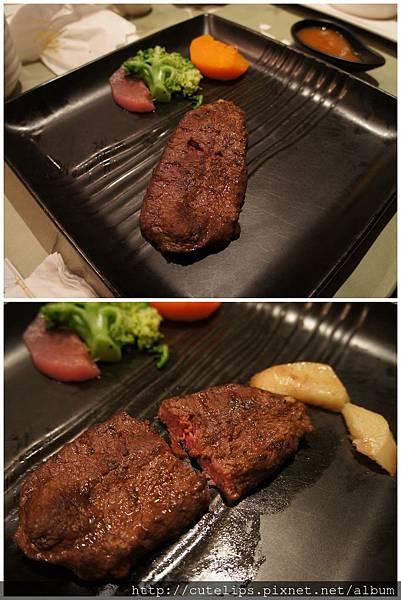 補送的香煎牛肉