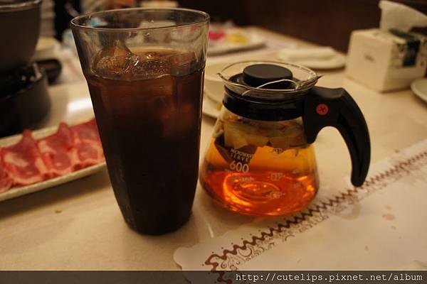 冰紅茶&熱水果茶