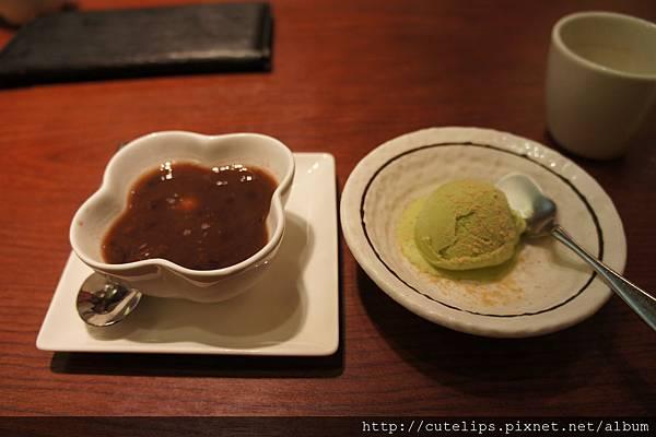 紅豆湯&抹茶冰淇淋102/1/6
