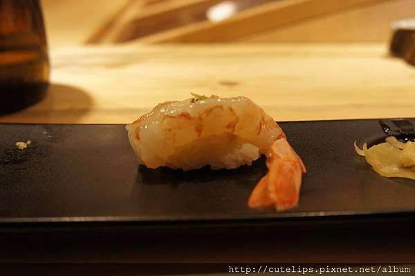 天使甜蝦握壽司