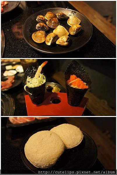 蛤蜊、手卷&炭燒冰淇淋