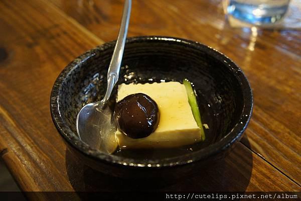 前菜-有機豆腐