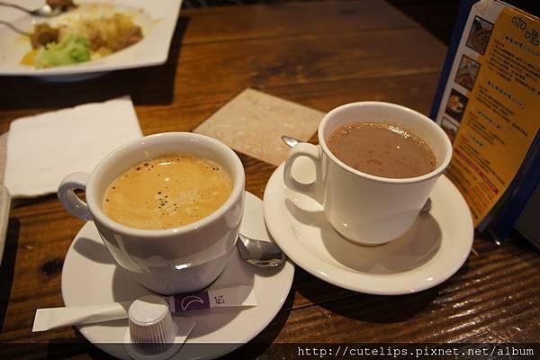 現煮咖啡&可可歐雷