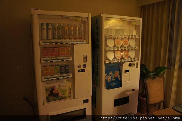便利屋裡的自動販賣機