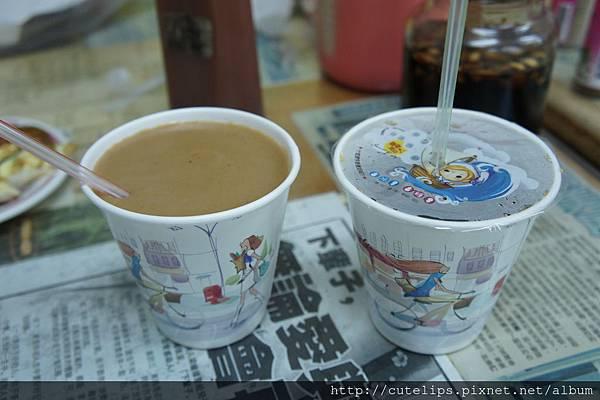 熱米漿&熱紅茶