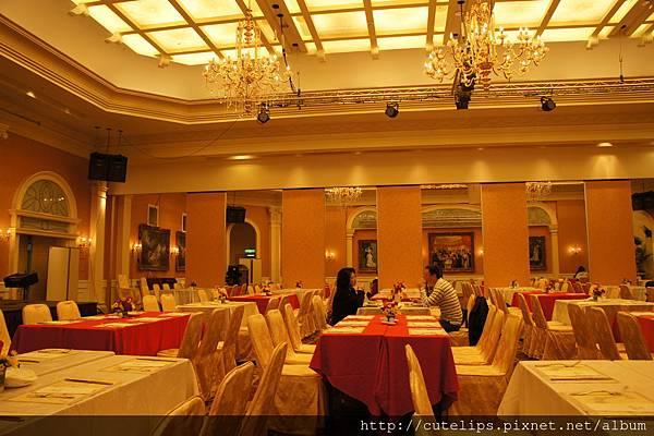 宴會廳用餐環境