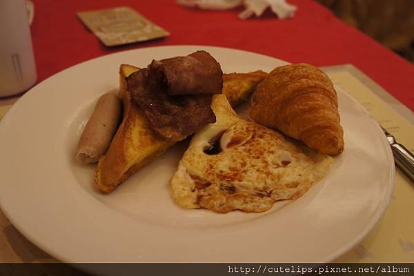 自助早餐菜色