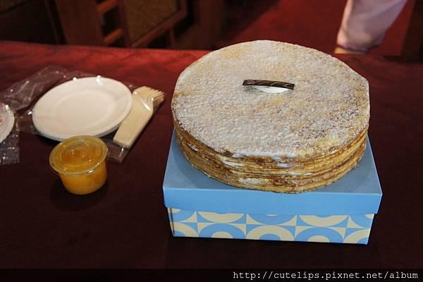 深藍-法式原味千層蛋糕