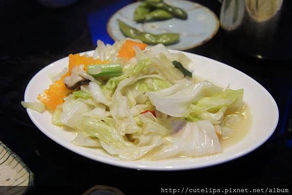 炒高麗菜(免費招待)