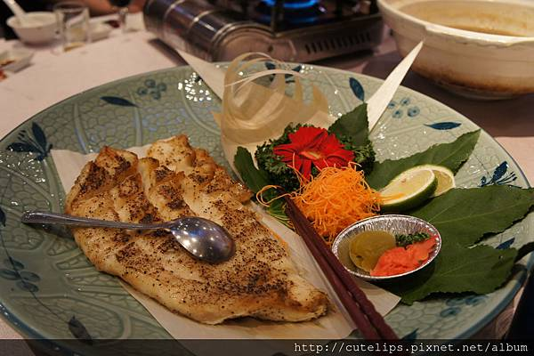 銀鱈魚の腹鹽燒