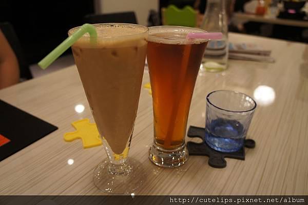 焦糖瑪奇朵&冰紅茶