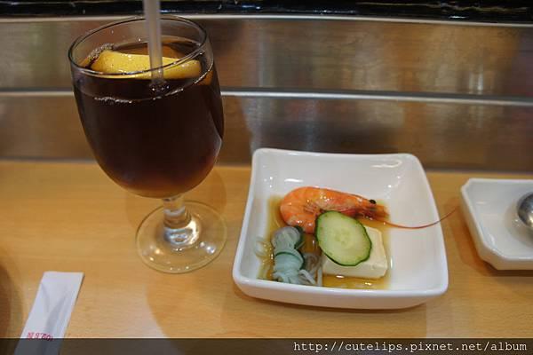 定食-水果茶&前菜
