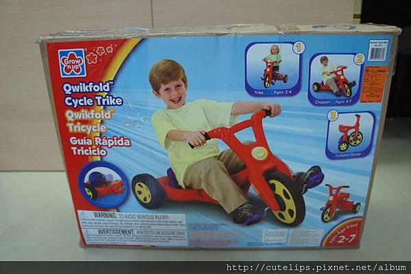 2合一三輪腳踏車(玩具反斗城)