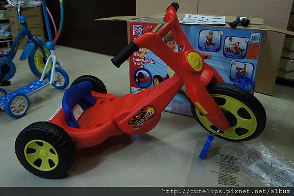 斜躺三輪車(4~7歲)