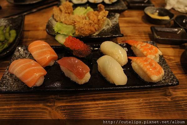 綜合握壽司