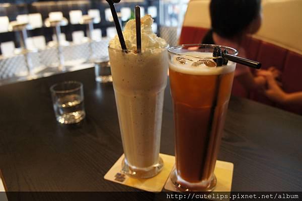 香草奶昔&錫蘭紅茶