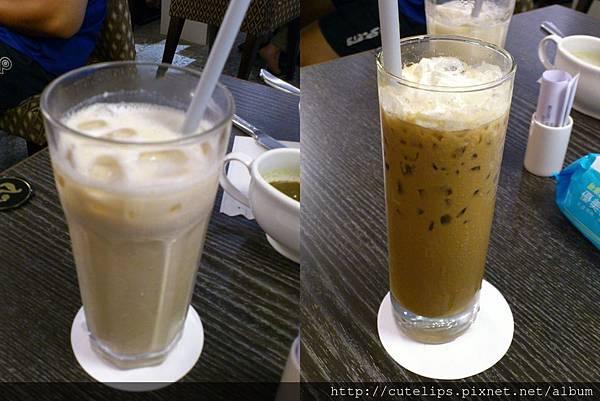 奶香紅茶&特調冰咖啡