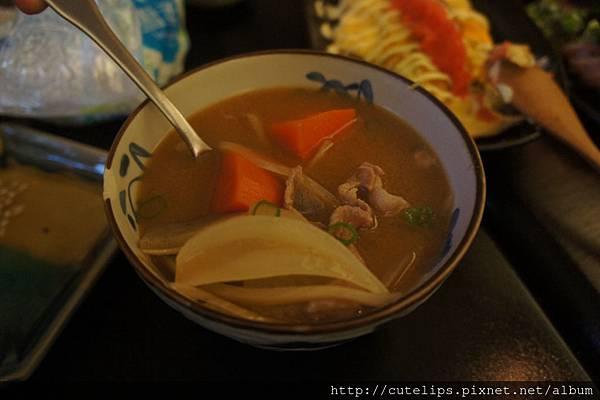 豚肉味噌湯