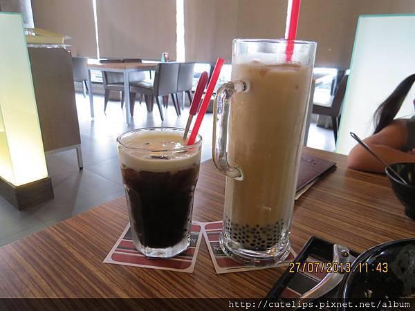 冰鎮咖啡&臺灣珍珠奶茶