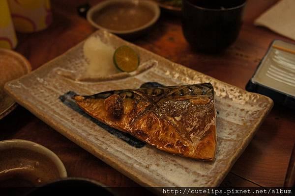 鹽烤鯖魚一夜干102/7/28