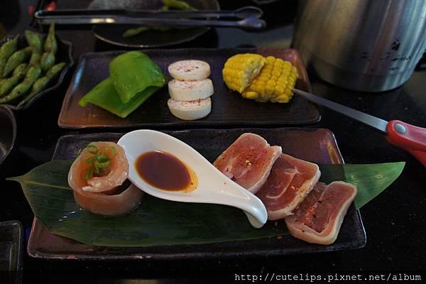 網子元氣香草豬套餐-蔬菜組合&副餐(雞肉)