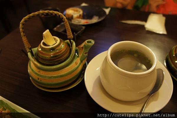 茶壺湯&蛤蜊薑絲湯