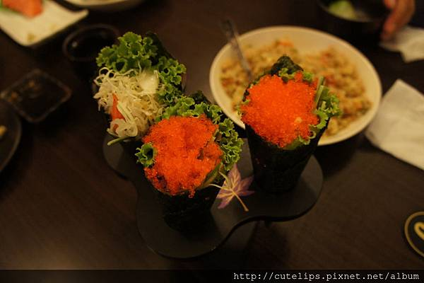 蝦手卷&蝦卵手卷