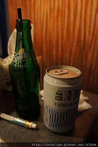 瓶裝汽水&臺灣啤酒