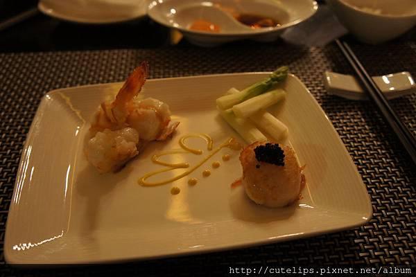 明蝦&干貝