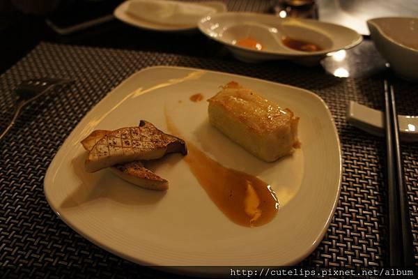 特製海陸全餐-杏鮑菇&時令鮮魚