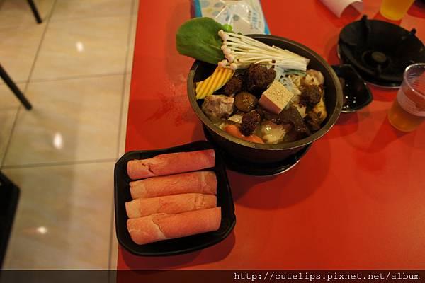 港式沙茶豬肉鍋