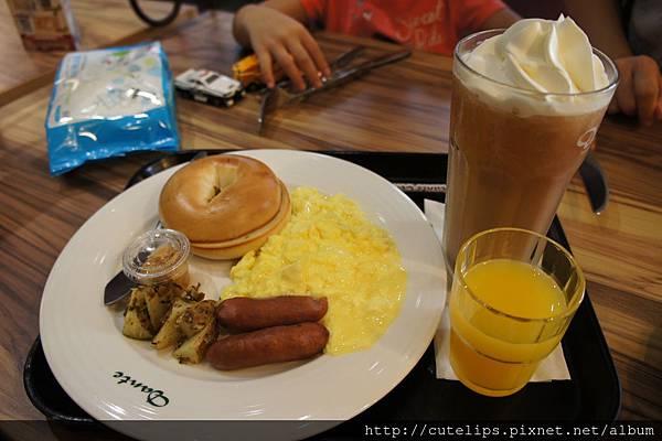 美式貝果早午餐