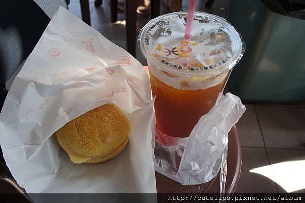 冰火波蘿油&凍檸茶